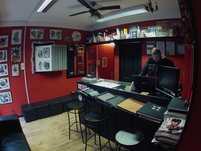 About us tattoo london for Tattoo shop design